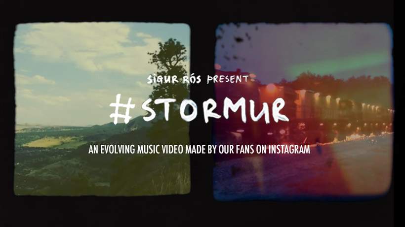 #stormur live interactive music video